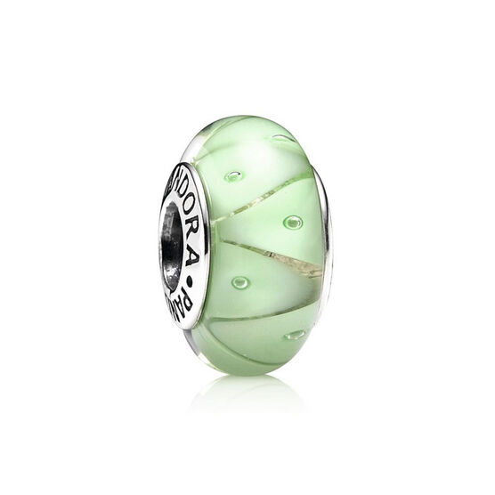 PANDORA Green Looking Glass Charm