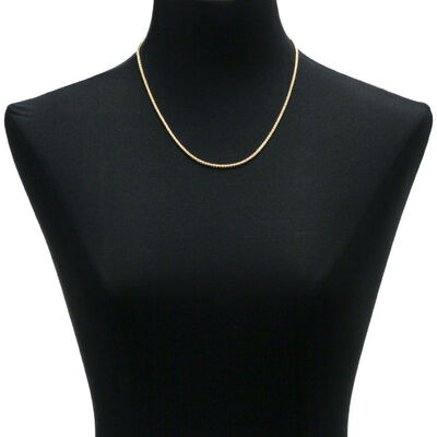 Diamond Cut Wheat Chain 14K, 20""