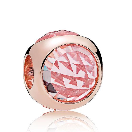 PANDORA Rose™ Radiant Droplet  Pink Mist Crystals Charm