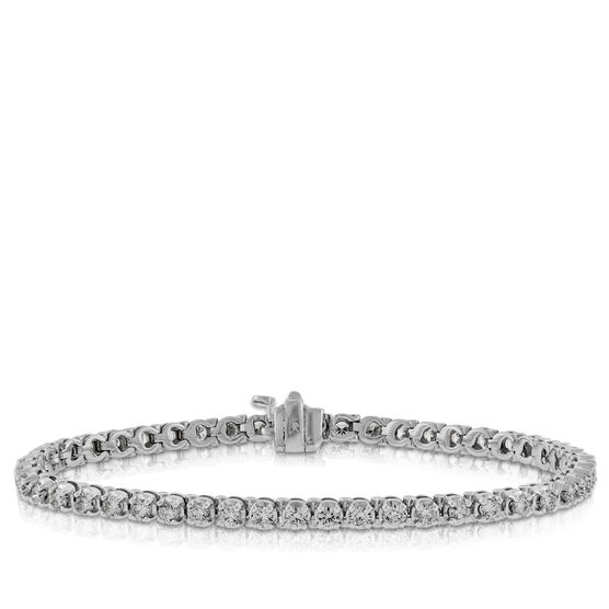 Diamond Tennis Bracelet, 14K, 3 ctw.