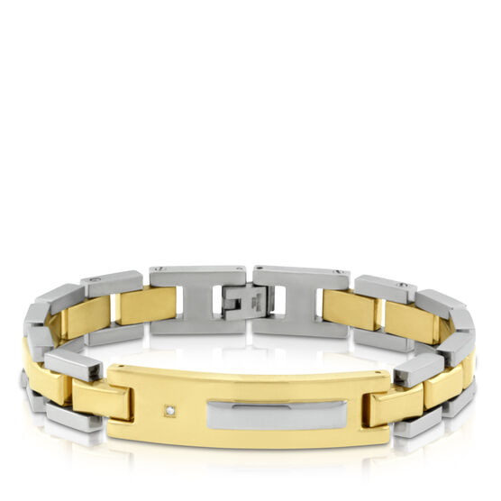 ID Bracelet in Stainless Steel