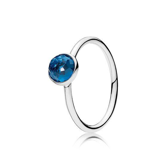Pandora December Droplet Ring