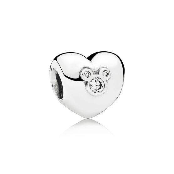PANDORA Disney Heart of Mickey Charm
