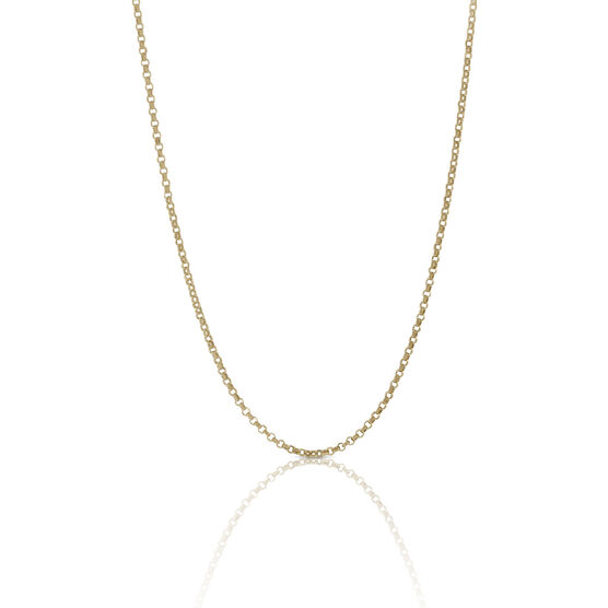 Toscano Collection Rolo Chain 18K, 18""