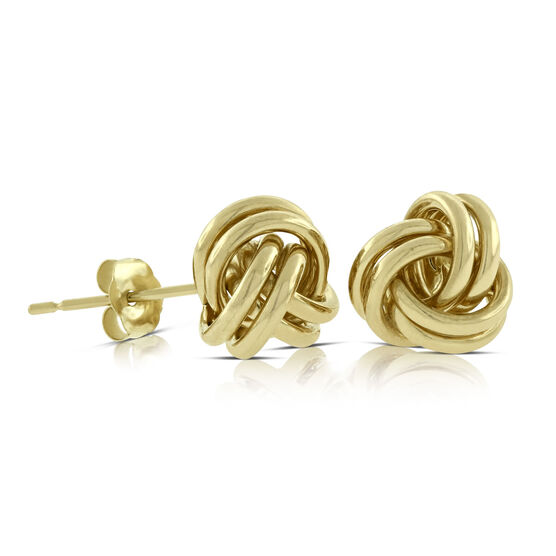 Knot Earrings 14K