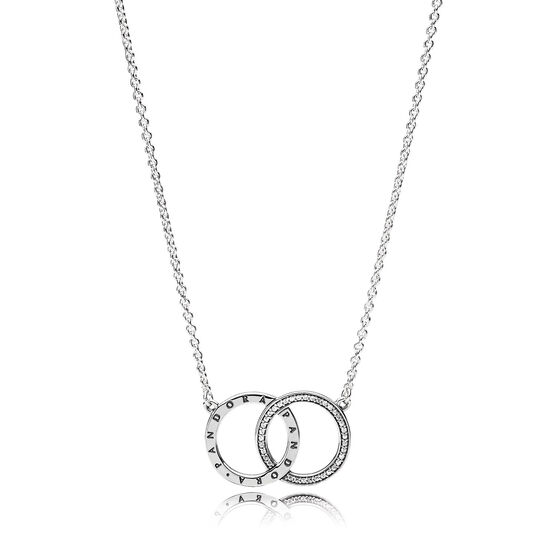 PANDORA Circles CZ Necklace