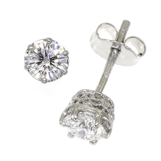 Ben Bridge Signature Diamond™ Earrings in Platinum