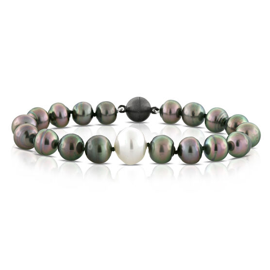 Cultured Tahitian & South Sea Pearl Bracelet