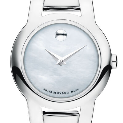 Movado Amorosa Mother-of-Pearl Watch
