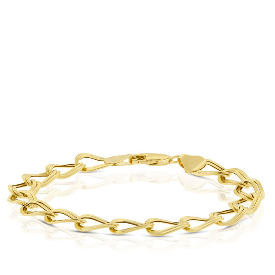 Toscano Twin Link Bracelet 14K