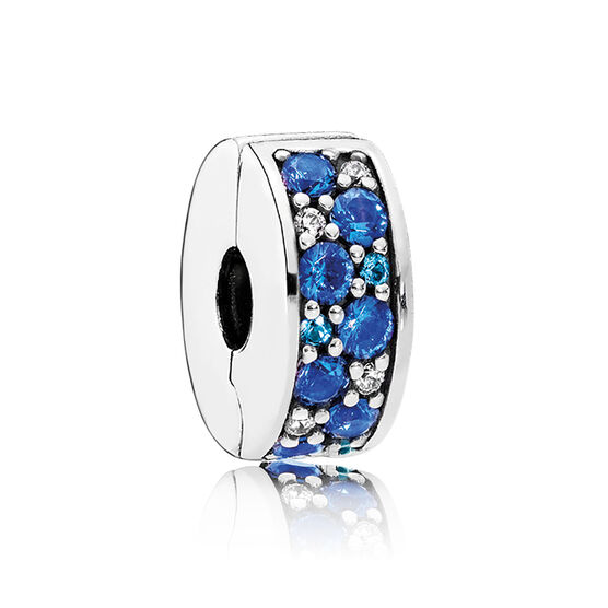 PANDORA Mosaic Shining Elegance Blue Clip