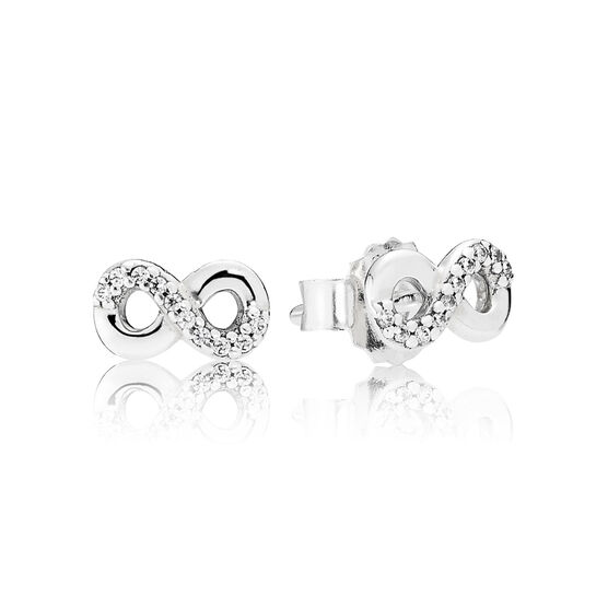 PANDORA Infinite Love CZ Earrings