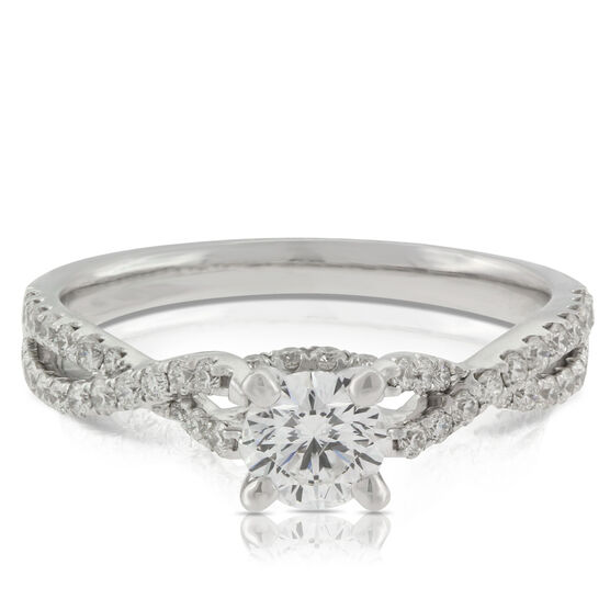 Ben Bridge Signature Diamond™ Engagement Ring in 14K
