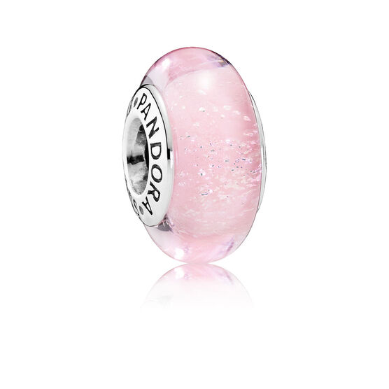 PANDORA Disney Aurora's Signature Color Glass Charm