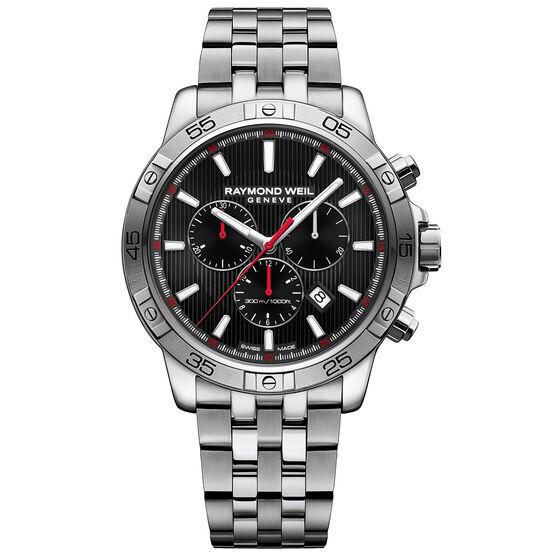 Raymond Weil Tango 300 Black Dial Chrono Watch