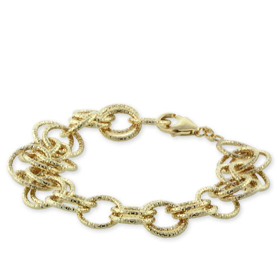 Toscano Collection Link Bracelet 18K