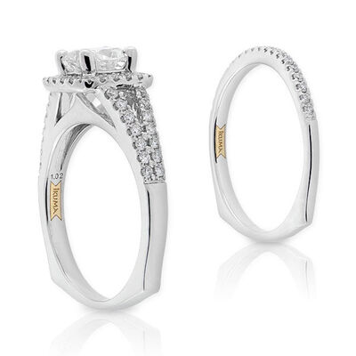 Ikuma Canadian Diamond Bridal Set 14K
