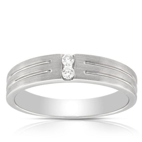 Men's Diamond Band 14K