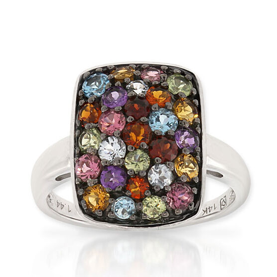Gemstone Ring 14K