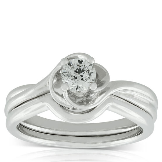 Diamond Bridal Set 14K, 3/8 ct.