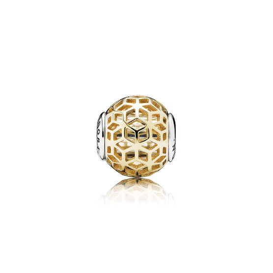 PANDORA ESSENCE Intuition Charm, Silver & 14K