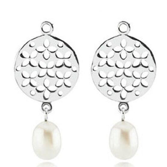 PANDORA Cultured Elegance Pearl Earring Charms
