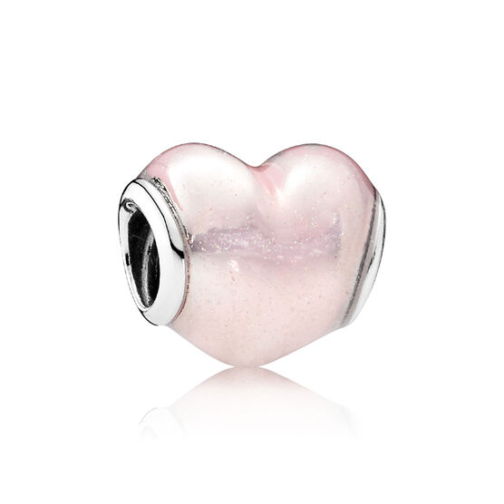 PANDORA Glittering Heart Charm