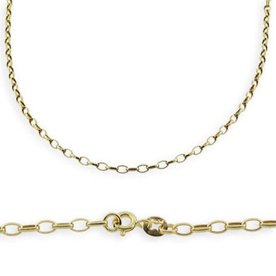 Link Chain 14K, 18""
