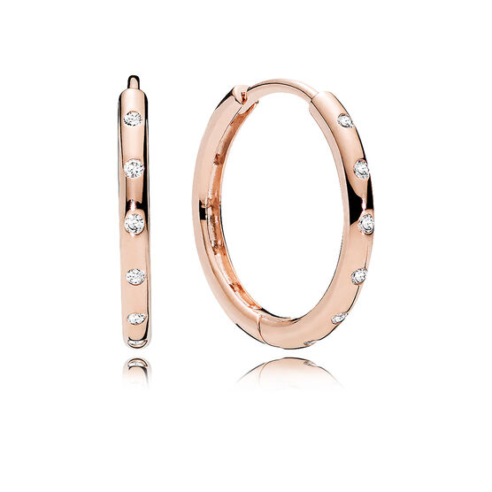 PANDORA Rose™ Droplets Hoop CZ Earrings