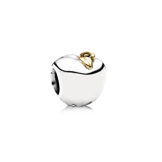 PANDORA Apple of My Eye Charm, Silver & 14K