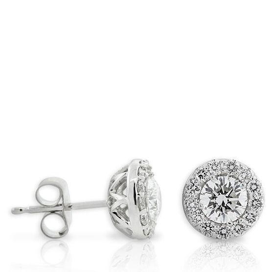 Forevermark Diamond Earrings 18K, 2/3 ctw.