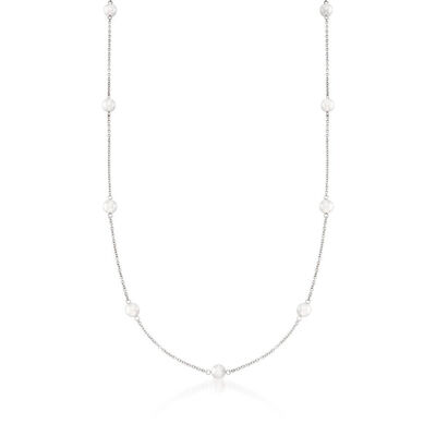 Mikimoto Akoya Cultured Pearl Necklace, A+, 18K, 32""