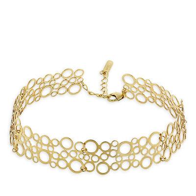 Geo Design Bracelet 14K