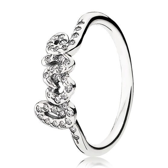 PANDORA SIGNATURE OF LOVE RING