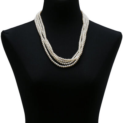 "Freshwater Cultured Pearl 100"" Strand"