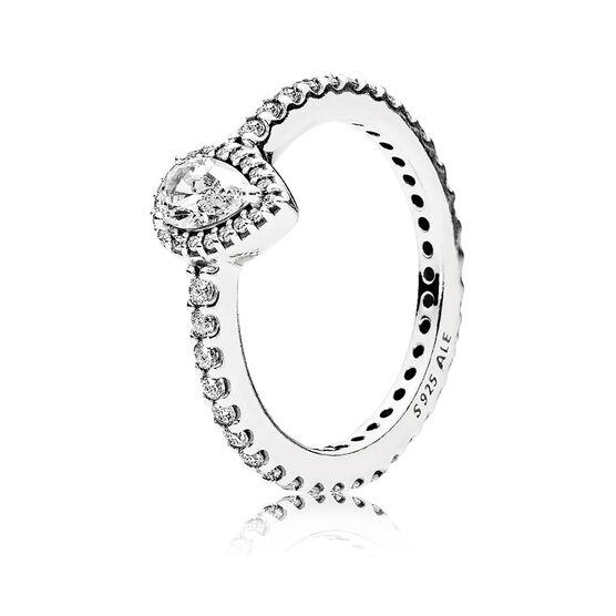PANDORA CZ Lavish Sparkle Ring