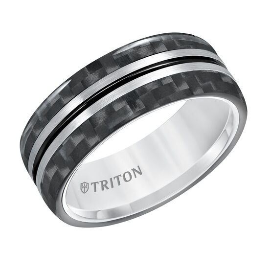 TRITON Tungsten & Carbon Fiber Band