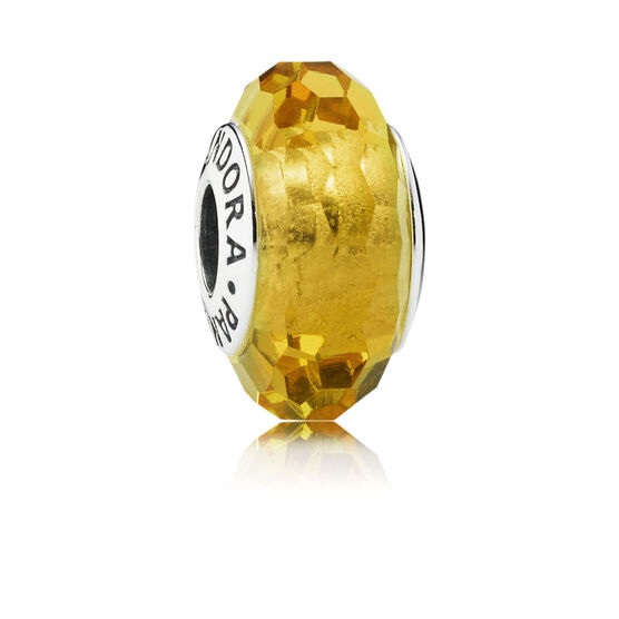 PANDORA Fascinating Ochre Charm