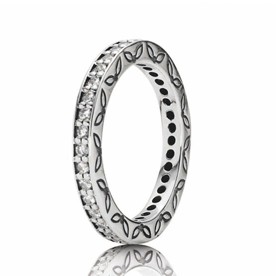 PANDORA Eternity Ring RETIRED sz7
