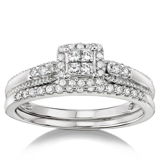 Diamond Bridal Set 14K