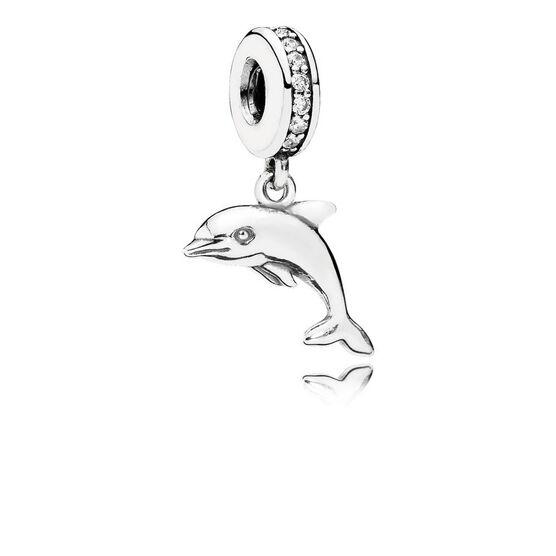 PANDORA Playful Dolphin Charm