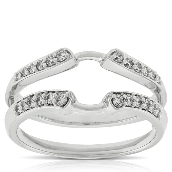 Diamond Ring Guard 14K, 1/4 ctw.