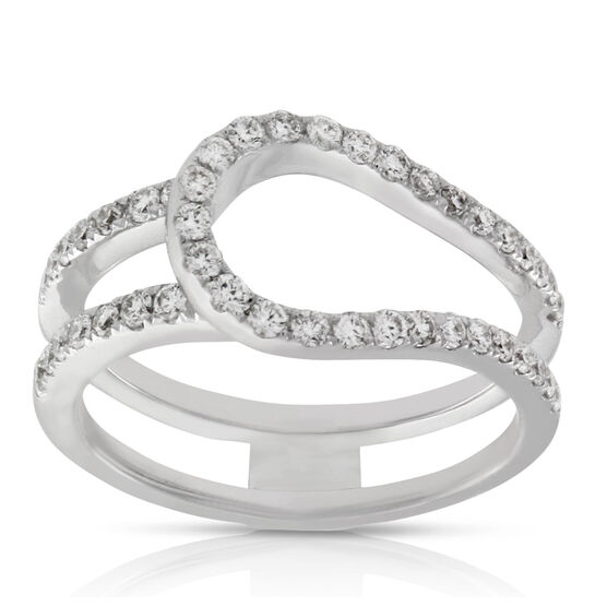 Diamond Ring Insert 14K