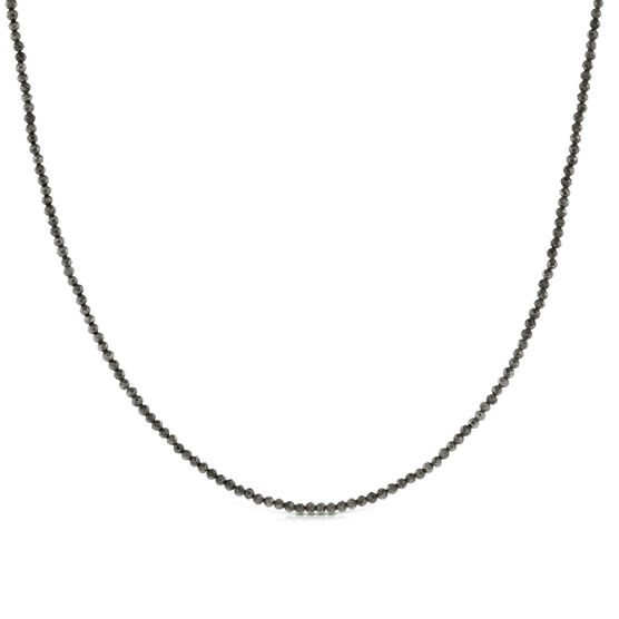 Lisa Bridge Pyrite Bead Necklace