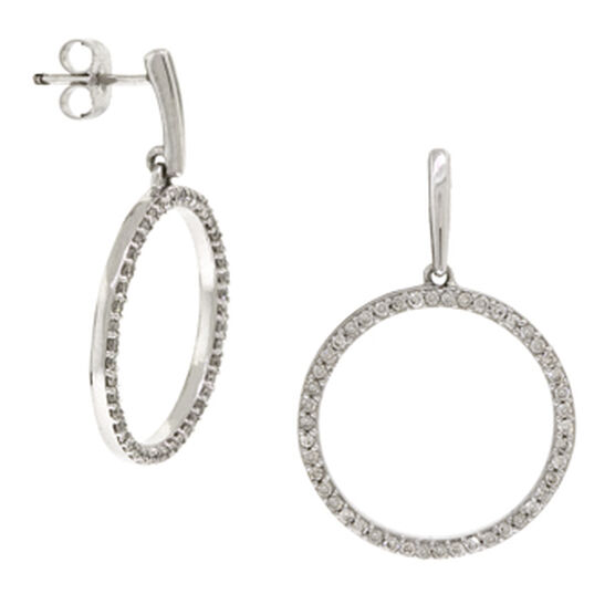 Diamond Earrings 14K