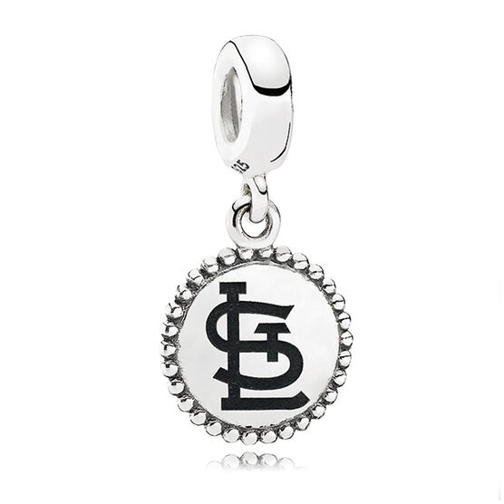 PANDORA Cardinals MLB Dangle Charm