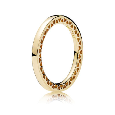 pandora classic hearts of pandora ring 14k - Pandora Wedding Rings