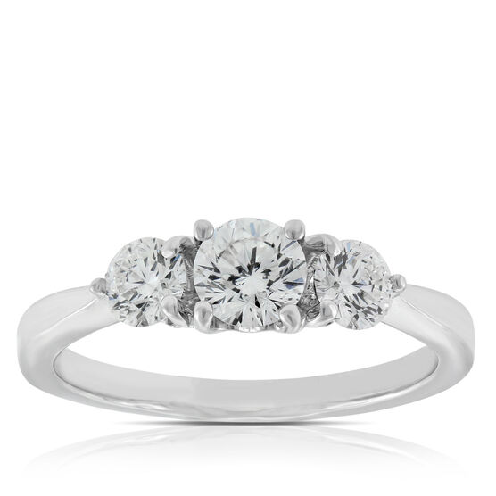 Signature Forevermark Diamond Ring 18K