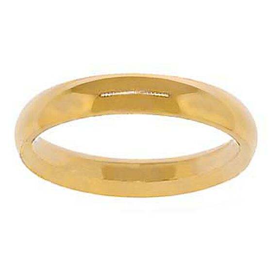 4mm Comfort Fit Band 14K, Size 10