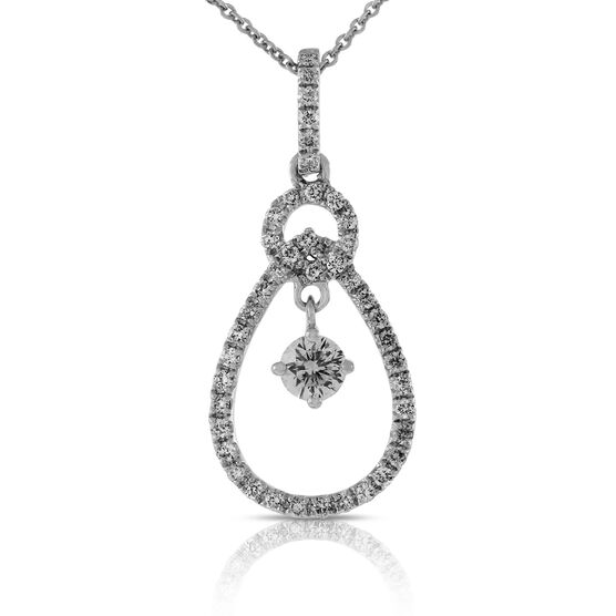 Ben Bridge Signature Diamond™ Pendant in 14K